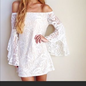 New without tags boho lace dress